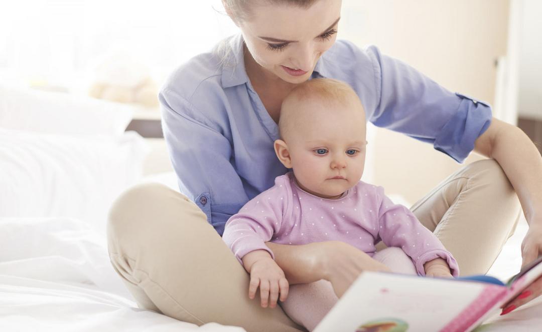 Qual a melhor idade para começar a ler para os filhos?