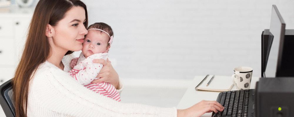 7 dicas práticas para as mamães que trabalham fora