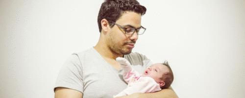 Seja um super pai na sala de parto!