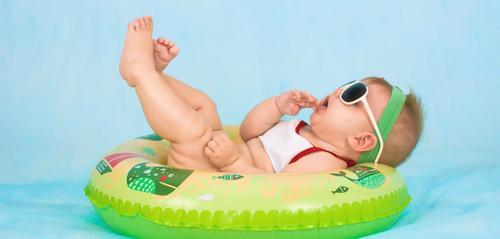 Como proteger o seu bebê do sol?