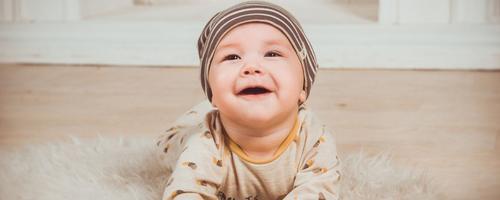 Como fazer o seu bebê sorrir?