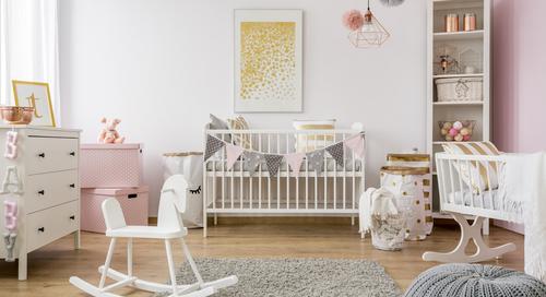 Quais os erros mais comuns na hora de montar o quarto do bebê