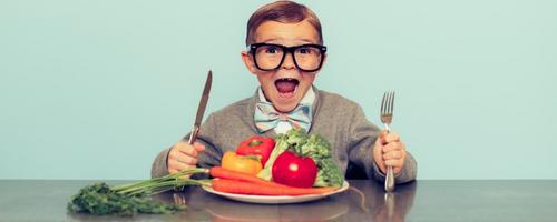 Guia: tudo o que você precisa saber sobre crianças vegetarianas e veganas