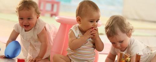 Como preparar o bebê para o berçário