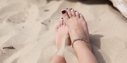 Como cuidar dos pés inchados durante a gravidez?